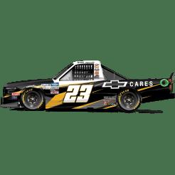 Brett Moffit's No. 23 Chevrolet Cares Silverado (PC : Dick Claveloux)