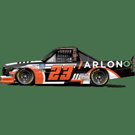 Brett Moffit's No. 23 ARLON Silverado (PC : Dick Claveloux)