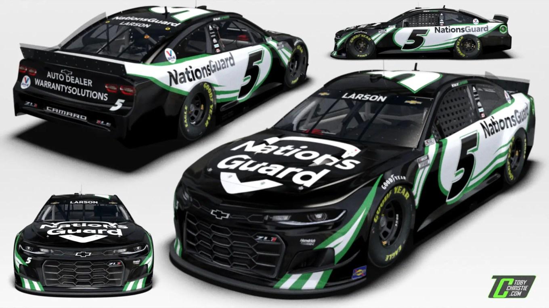 Nations Guard Backing Larson In The 2021 Daytona 500 Tobychristie Com