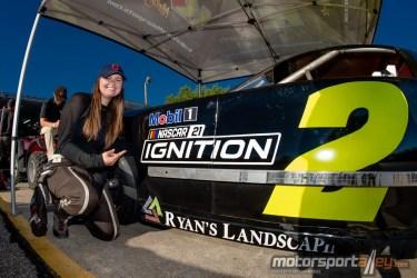 Kendra Adams racer
