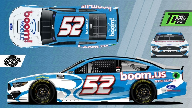 Joey Hand NASCAR
