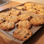 Recipe: Extremely Chocolatey White Chocolate and Cranberry Cookies