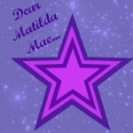 A letter to Matilda Mae