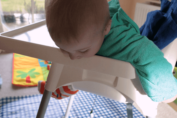 Weaning eating highchair
