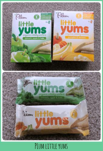 Plum Little Yums packaging