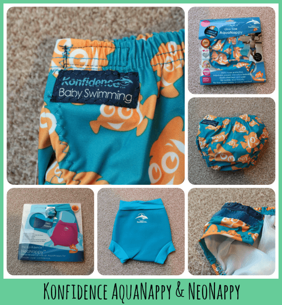 Review Konfidence Baby Swimming Kit Toby Goes Bananas
