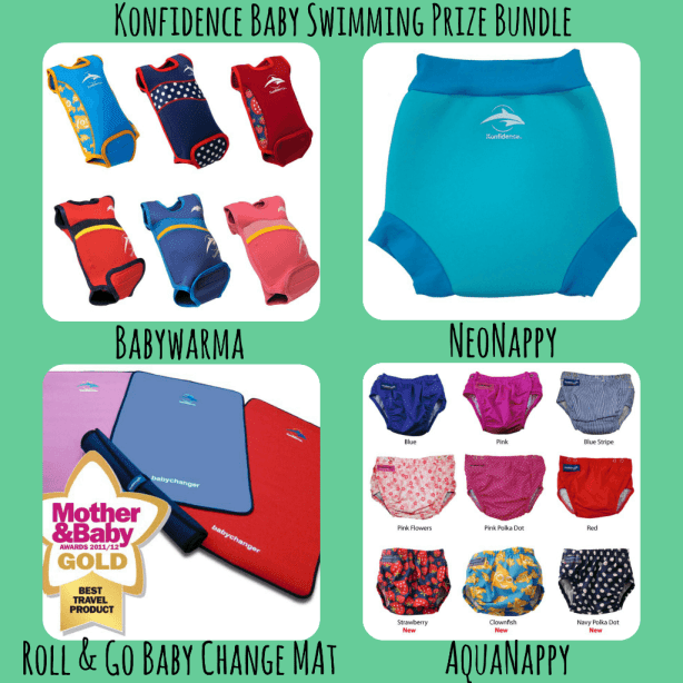 Konfidence Baby Swimming Bundle