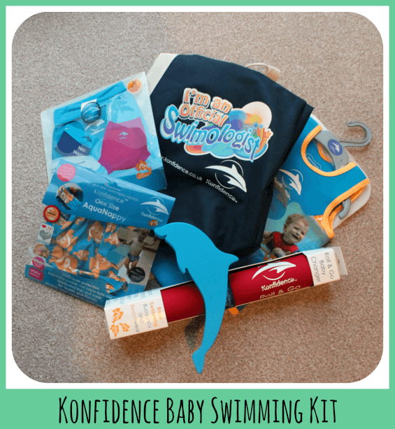 Konfidencebaby swimming kit