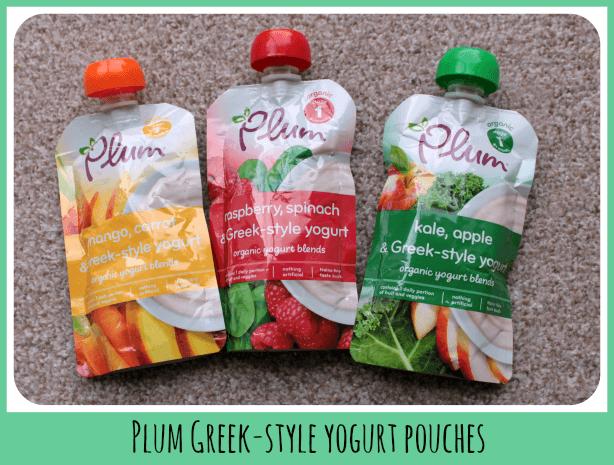 Plum Greek-style yogurt