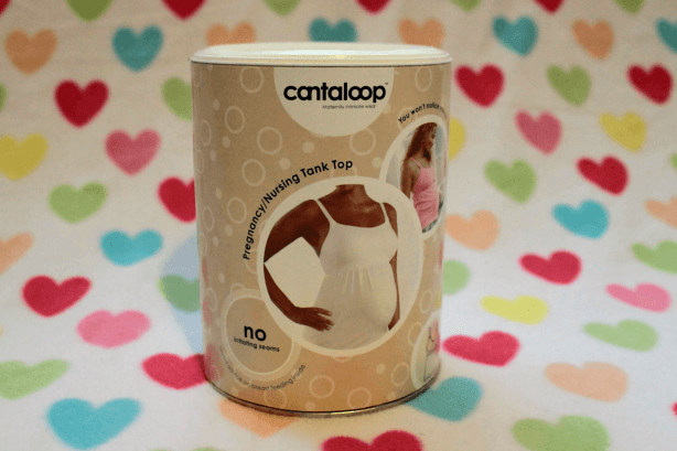 Cantaloop Pregnancy Nursing tank top