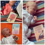 Gabriel is one month old