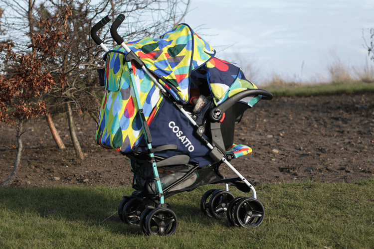 Cosatto To & Fro with Hold car seat