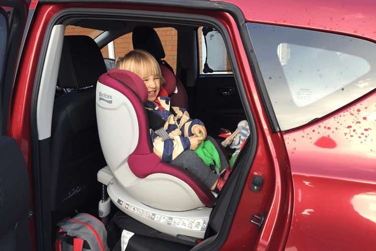 Car Seat Facing Backwards Until