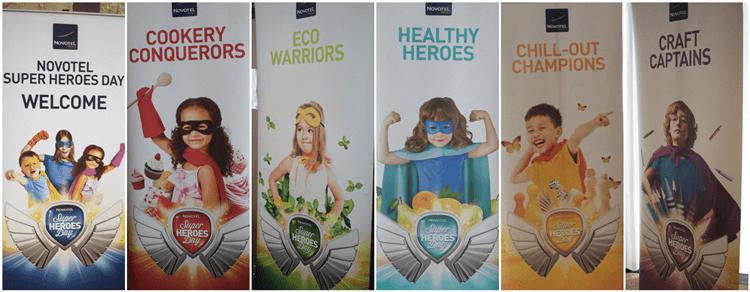 Novotel Super Heroes Day #novotelheroes