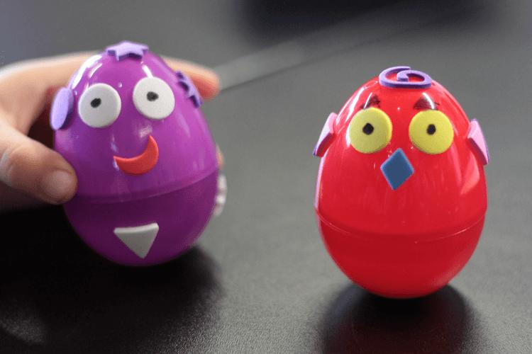 Self-righting eggs