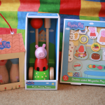 Review: Peppa Pig wooden toys from Milly & Flynn