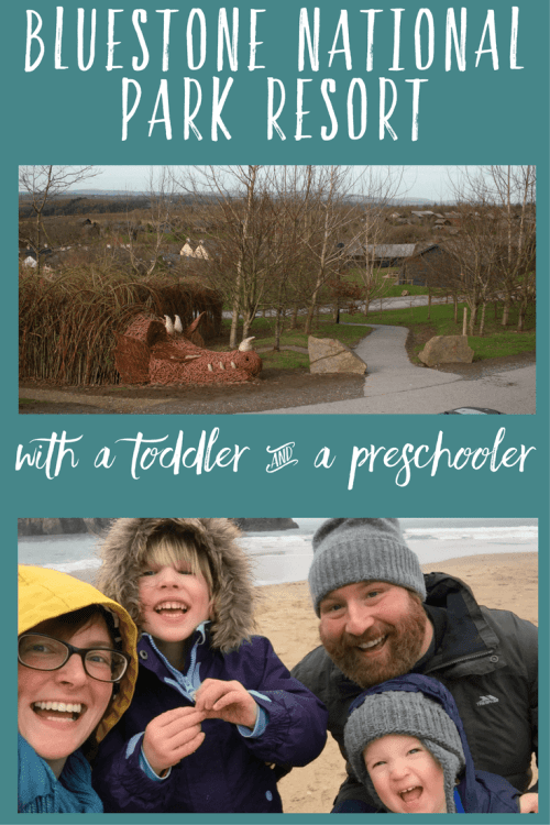 Bluestone, Wales with a toddler and a preschooler