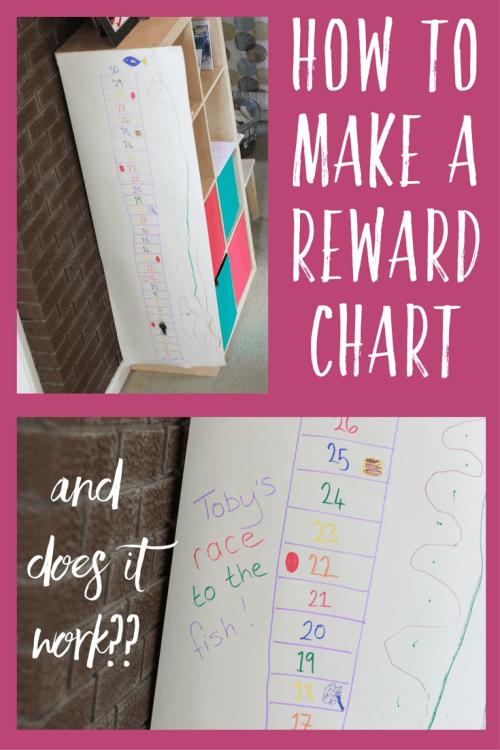How to make a reward chart
