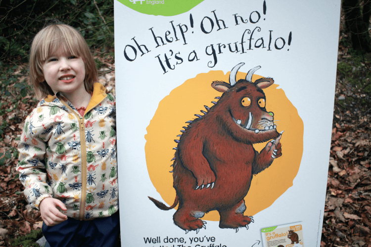Toby found the Gruffalo