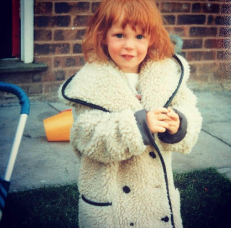 A young Beth from Twinderelmo