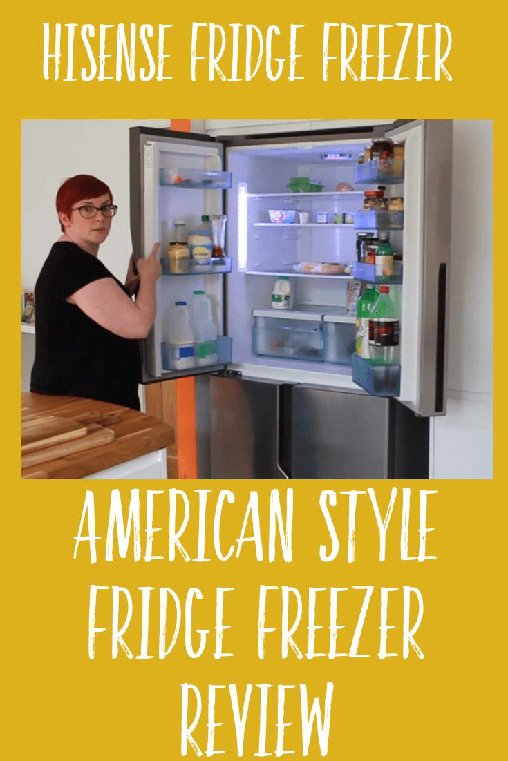 Review of our Hisense Fridge Freezer - American Style Fridge Freezer