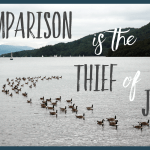 Comparison is the thief of joy // Being good enough