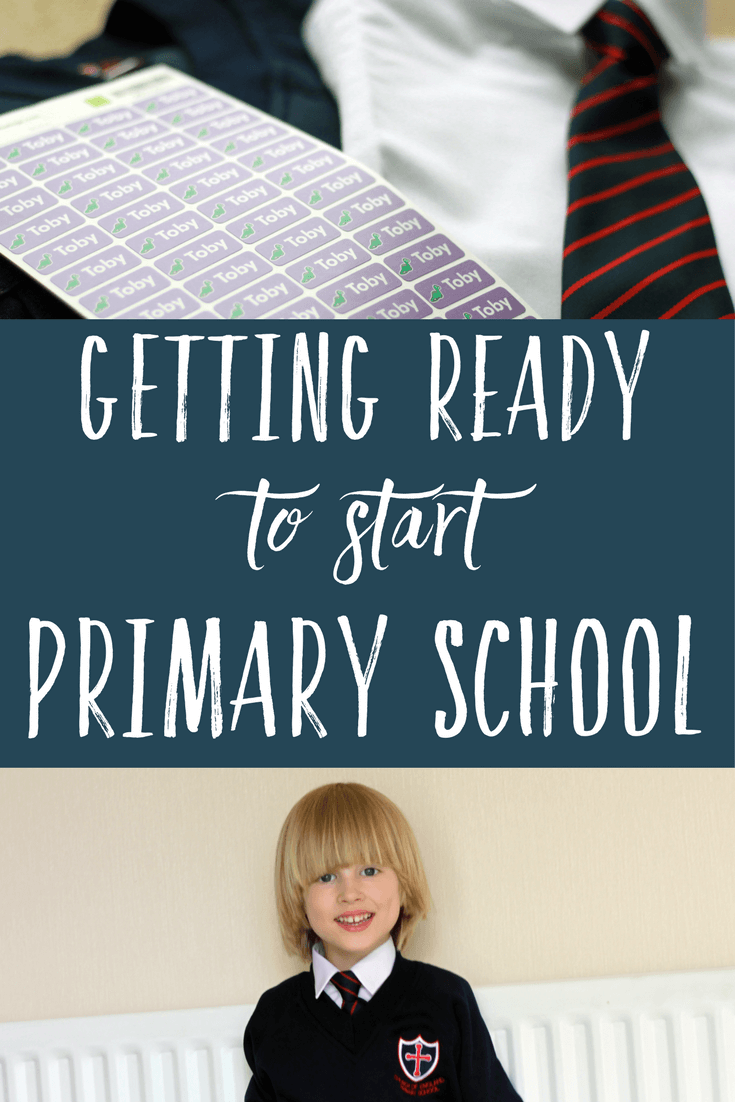 Getting ready to Start Primary school