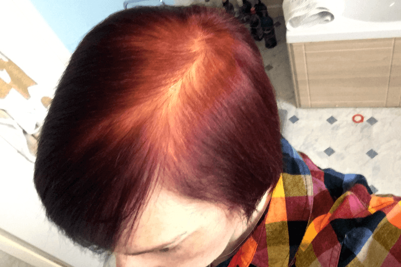 My finished colour