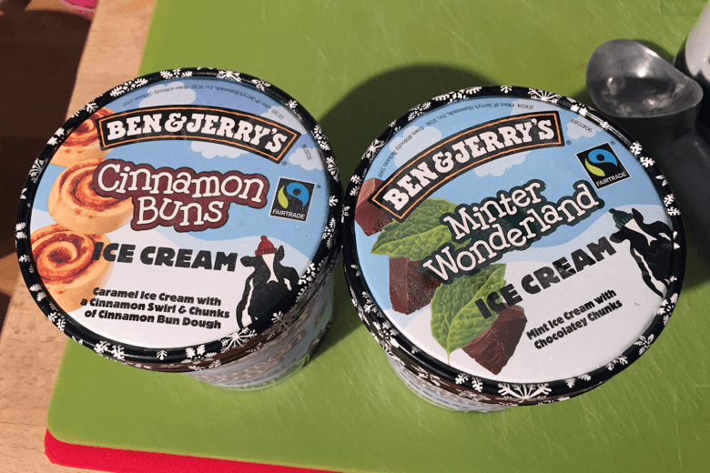 Limited edition Ben & Jerry's