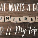 What makes a good Pinterest Pin? // My top five