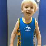 Toddler swimming progress // Term two with Puddle Ducks