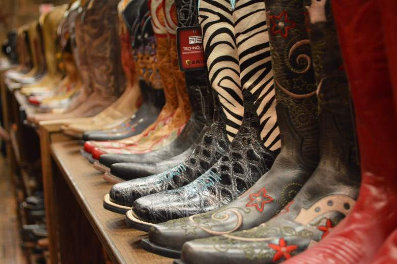 Cowboy boots in the deep south