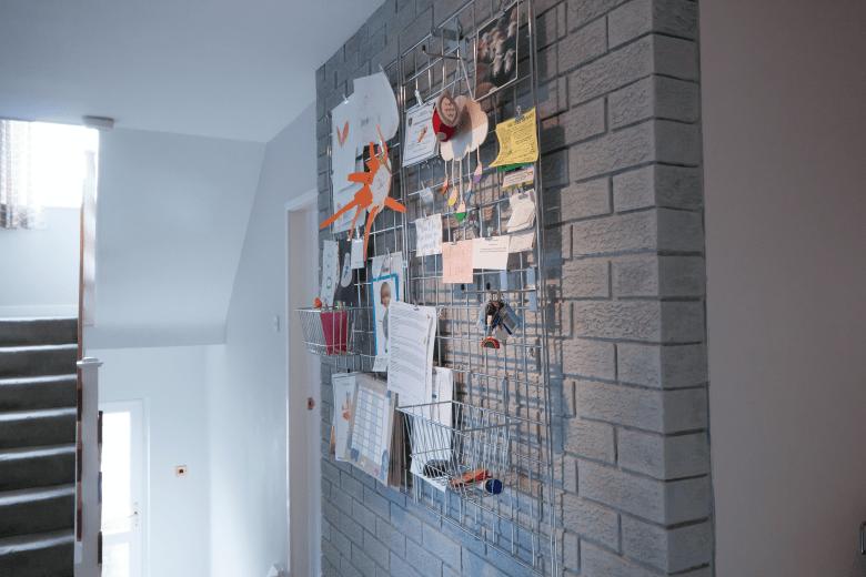 Gridwall noticeboard