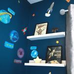 Night & Day themed kids' bedroom