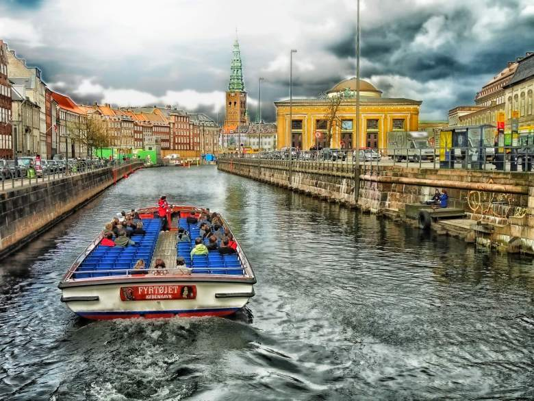 Holidays by the river in Copenhagen