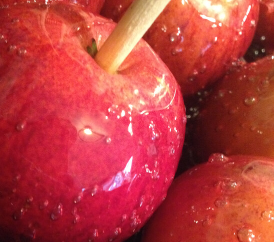 Toffee apple recipe from Daisies and Pie
