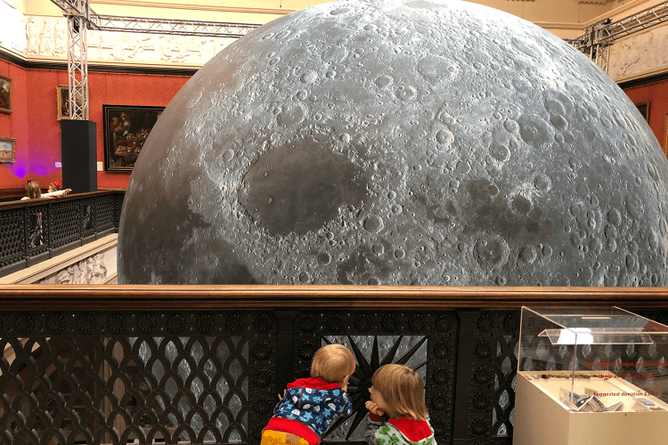 Museum of the Moon at the Harris Museum Preston