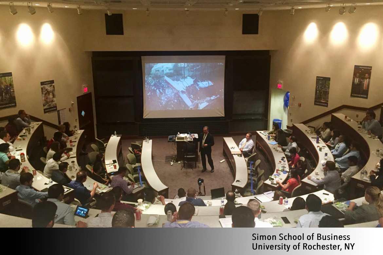 Website slider -Simon School