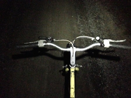 Night bike bars