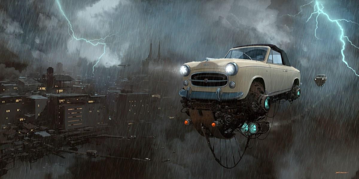 SciFi Art Feature — Alejandro Burdisio