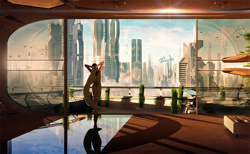 Sci-Fi Art Feature — Tigaer (Christian Hecker)