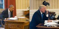Donald Trump Desk - Donald Trump Oval Office Desk Photos