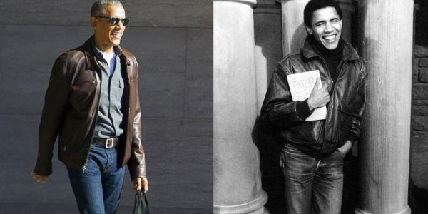 Barack And Michelle Obama In Washington