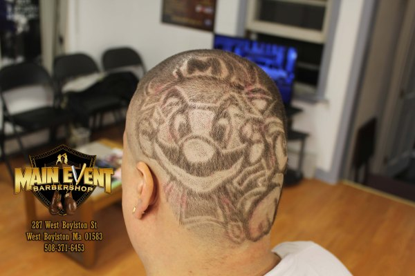 Mario And Sonic Theme Hair Design Toca Legacy Main Event Barbershop