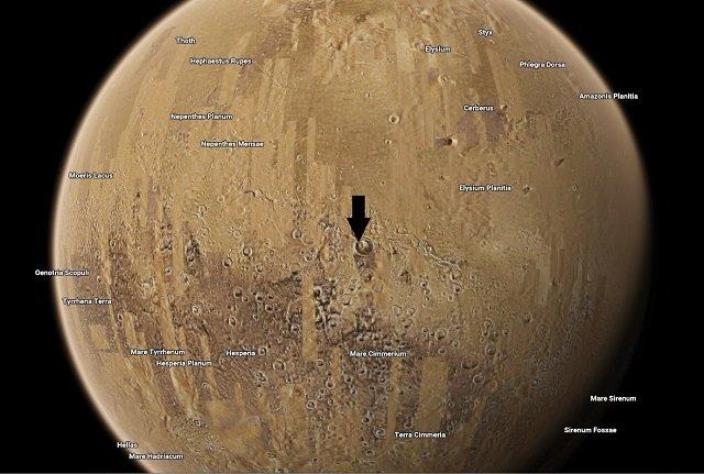 【驚愕】火星に正真正銘の人工施設が建造されていた!! グーグルマーズに超ガチで写り込む、元自衛官が緊急コメント の画像1