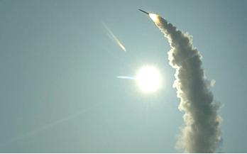 Сила русского оружия: минобороны показало поражение ПВО «Адмирала Макарова» крылатой ракеты над Чёрным морем