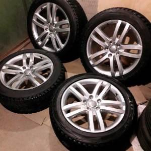 Зимние колеса R20 Audi Q7 4L Exclusive оригинал