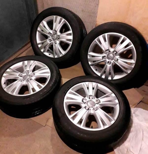 Летние колеса R19 Audi Q7 4L