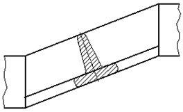 Рисунок 29 - Пример изображения наложенного сечения
