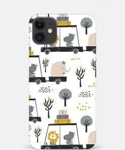 Animal Safari iPhone 12 Mini Mobile Cover